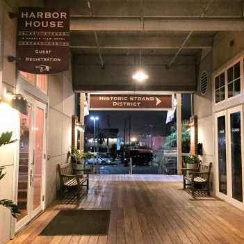 We stayed at the Harbor House on the Marina the first two nights of our stay and I really liked it! The rooms were modern and fairly newly remodeled.
