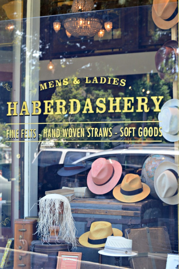 We passed a cute Haberdashery along the way! I had to take a picture because I thought it was so neat; it was like being back in time.