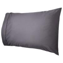 gray pillow case